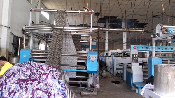 Máy Căng Kim Định Hình Vải